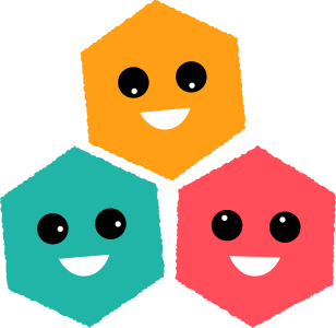 Laughing hexagons